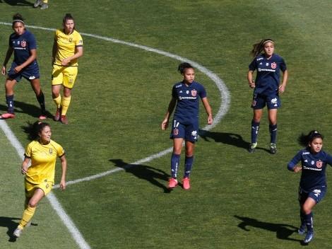 La U deberá viajar a Concepción por los cuartos del fútbol femenino