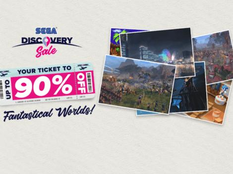 Promoção SEGA Discovery Sale traz até 90% de desconto nos jogos para Steam