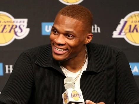 No ha iniciado la temporada y Westbrook está 'desesperado' en Lakers