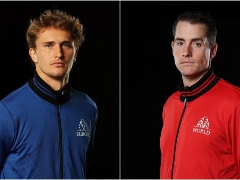 Berrettini/Zverev vs Isner/Shapovalov: Predictions, odds, and how to watch 2021 Laver Cup in the US today