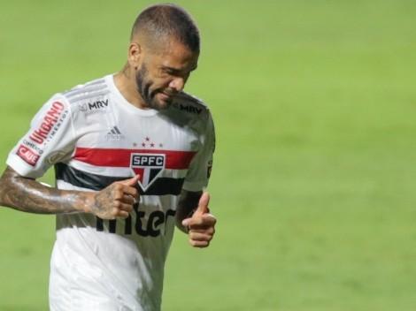 Fluminense e Daniel Alves não chegam a um acordo, e contratação é descartada