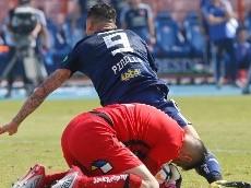 Mauricio Pinilla recuerda golpe en la nariz a Agustín Orión