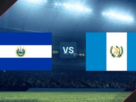 ◉ EN VIVO   El Salvador vs. Guatemala por un amistoso internacional   Hora y canal de TV   VER HOY