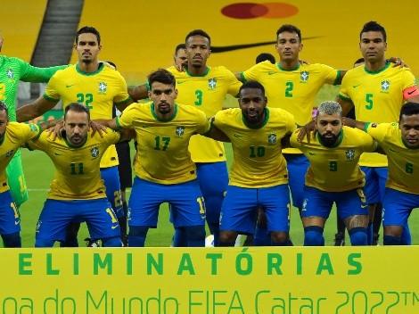Brasil confirmó su poderosa convocatoria para enfrentar a Colombia