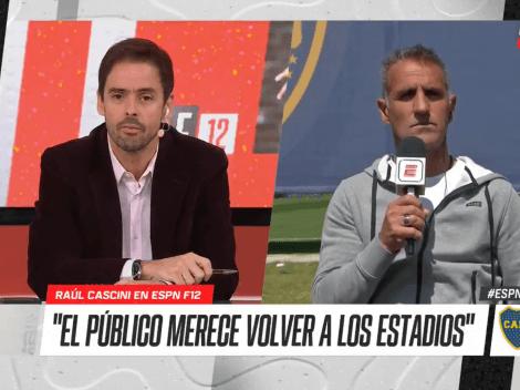 """Raúl Cascini: """"Advíncula es súper profesional, estamos muy contentos con él"""""""