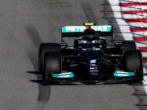 Valtteri Bottas foi o melhor desta sexta-feira nos treinos livres do GP da Rússia