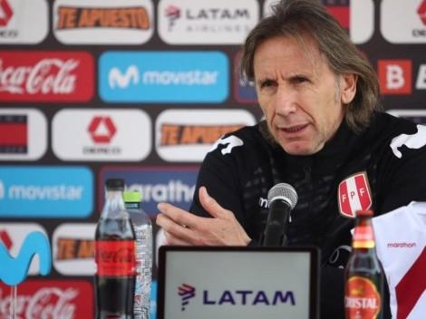 Lo convocó, pero dificilmente juegue contra Chile: Ricardo Gareca habló de André Carrillo