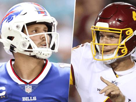 EN VIVO: Buffalo Bills vs. Washington Football Team | Pronóstico, horario, streaming y canal de TV para ver EN DIRECTO ONLINE la Semana 3 de la NFL 2021