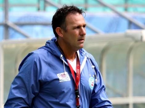 Dabove recebe notícia de última hora e precisa mudar os planos para escalar Bahia que enfrenta o Inter