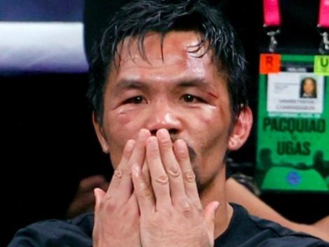Manny Pacquiao contó que la última vez que lloró en el boxeo fue por un mexicano