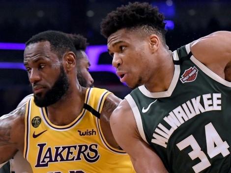 Giannis pone a LeBron primero y elige a los mejores jugadores de la NBA