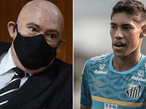 Rueda expõe situação de Balieiro e revela cláusula favorável ao Santos
