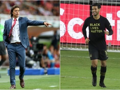 El elogio de Matías Almeyda a Carlos Vela y su deseo para el futuro en MLS