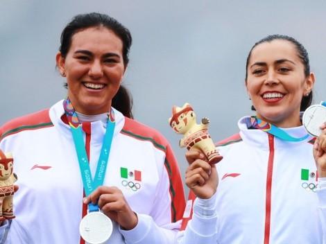 Las medallistas olímpicas, Aída Román y Alejandra Valencia, le dan a México la plata