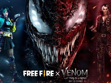 Filme Venom: Tempo de Carnificina será o próximo tema de Free Fire