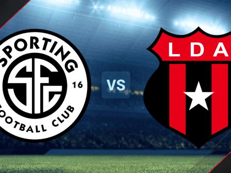 Sporting San José vs. Alajuelense EN VIVO por la Liga Promerica de Costa Rica   Hora, canal de TV y minuto a minuto