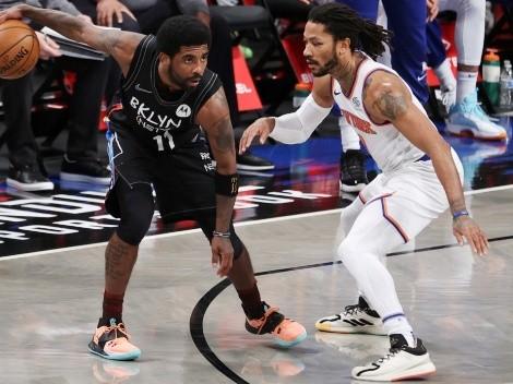 New York Knicks le moja la oreja a Kyrie Irving y Brooklyn Nets