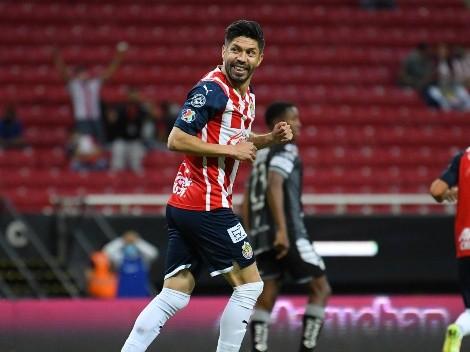 Oribe Peralta será titular en el Clásico Nacional