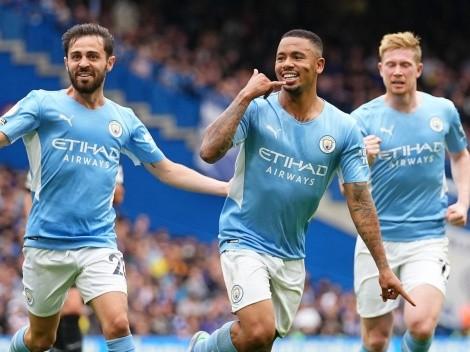 Com gol de Gabriel Jesus, Manchester City vence o Chelsea