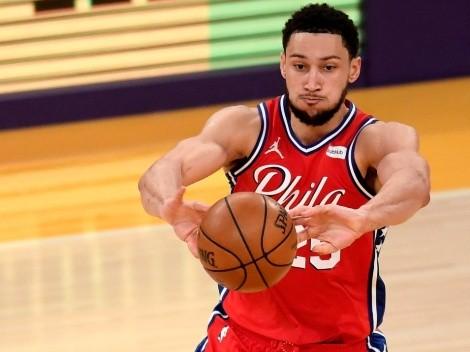 Ben Simmons no quiere saber nada de Philadelphia 76ers y este hecho lo comprueba