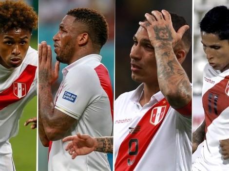 ¿Hace cuántos partidos con Perú no marcan los delanteros convocados por Gareca?