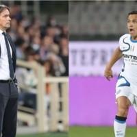 Simone Inzaghi valora a Alexis Sánchez tras empate de Inter contra Atalanta