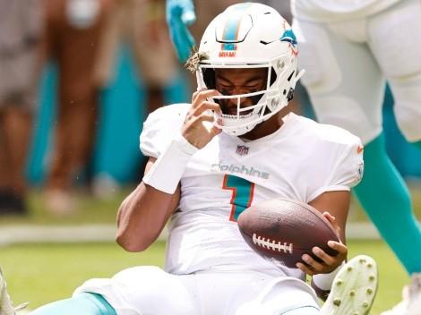 ¿Y ahora? Tua Tagovailoa y unas malas noticias para Miami Dolphins