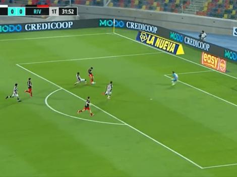 VIDEO: Álvarez presionó como le gusta a Gallardo y Carrascal puso el 1 a 0 para River