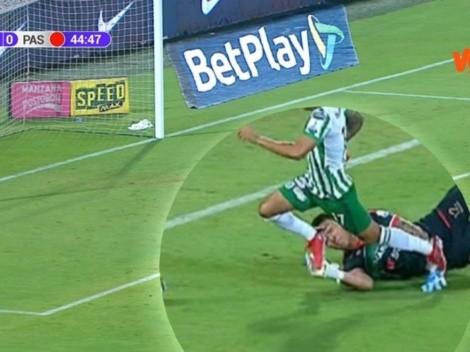 Vuelve la discusión por polémico penalti a favor de Atlético Nacional