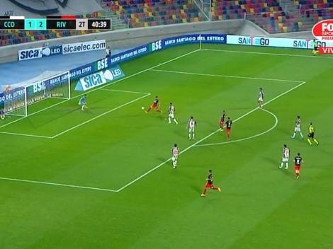 VIDEO: Braian Romero liquidó el partido tras un pase exquisito de Palavecino