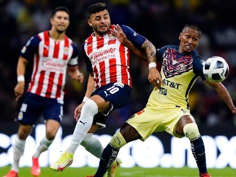 Alexis Vega tuvo el 1-0 para que Chivas ya le gane a América