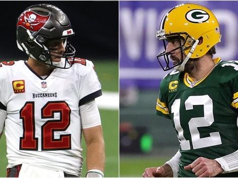 Tom Brady alcanza racha histórica en la NFL que solo Aaron Rodgers posee