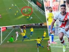 Video: tercer gol al hilo de Falcao con el Rayo y se lo marcó al Cádiz