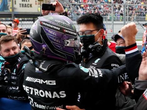 Após vencer a GP da Rússia neste domingo, Lewis Hamilton chega a vitória 100 na categoria