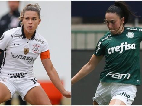 Corinthians x Palmeiras: onde assistir ao vivo, a final do Brasileirão de futebol feminino