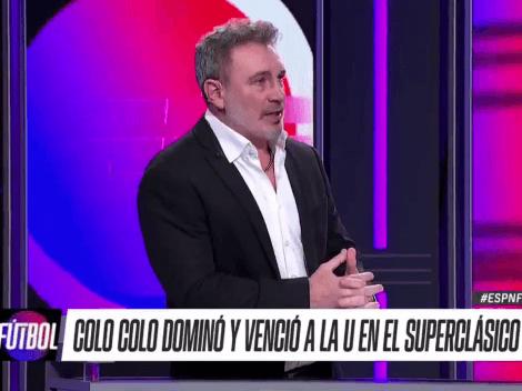 Barticciotto entrega detalles por donde pasó la victoria de Colo Colo