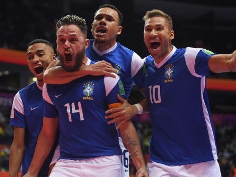 Brasil vence Marrocos e vai à semifinal do Mundial de Futsal