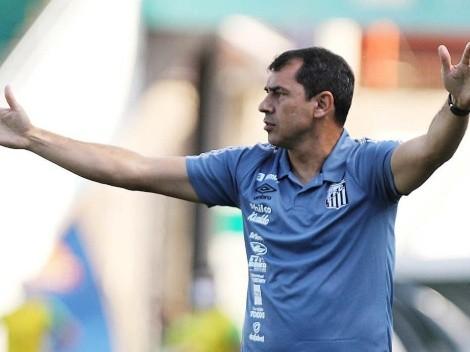 Novo reforço do Santos agrada a Carille dentro e fora de campo