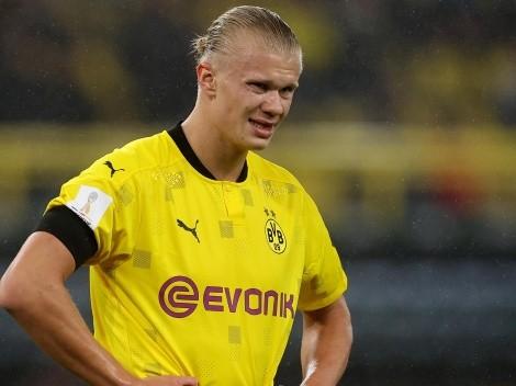 Dortmund se irrita com especulações e sobe o tom sobre futuro de Haaland