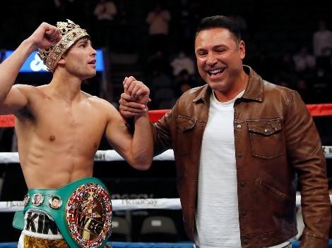 Oscar De La Hoya le tiene novedades a Ryan García
