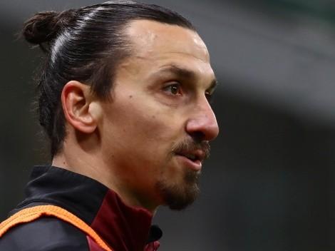 Ibrahimovic não se recupera de lesão e desfalca Milan contra o Atlético de Madrid