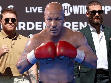"""Canelo Álvarez descuartizará a Caleb Plant"": Mike Tyson"