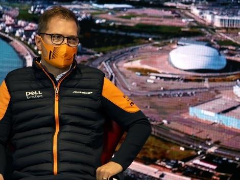 'Nesses momentos que você mais aprende', diz chefe da McLaren sobre Norris