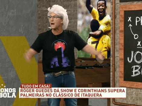 """Neto detona Gabriel Menino por comemoração em Corinthians x Palmeiras: """"Coisa de otário"""""""