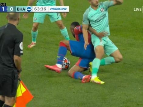 Sufre Reinaldo: impactante lesión de Steven Alzate en la Premier League