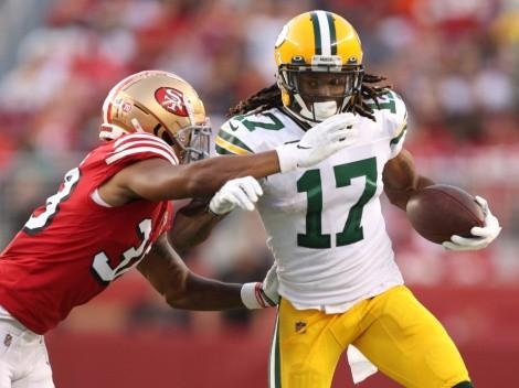 El tremendo golpe a Davante Adams que preocupó a Aaron Rodgers y a los Packers