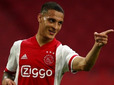 Ajax sinaliza 40 milhões de euros para vender Antony; São Paulo ficará com uma porcentagem