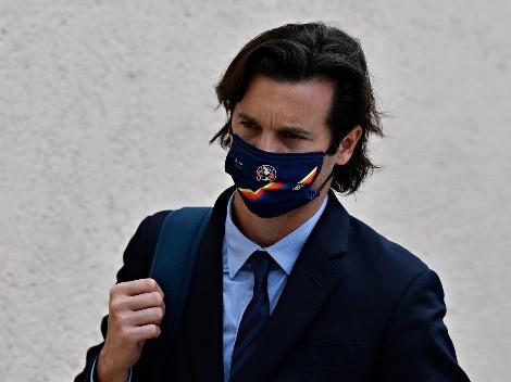 Santiago Solari ya enfrentó a un miembro de Pumas como jugador