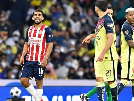 Chivas se burló del piquete de ojos de Miguel Ponce a Henry Martín