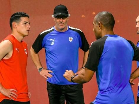 El otro gran reto que tiene James Rodríguez con el Al Rayyan